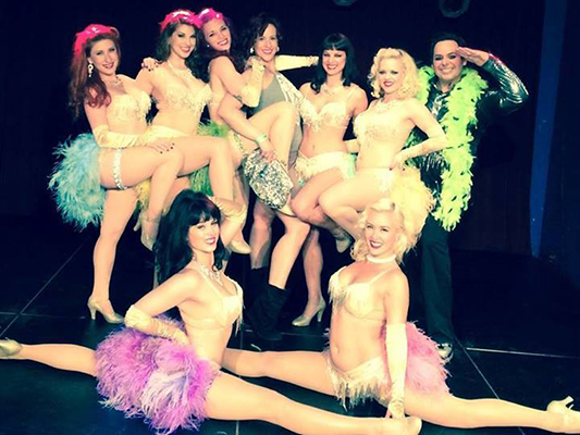 Comedian Jade Esteban Estrada and the Ruby Revue at House of Blues in Dallas, Texas.