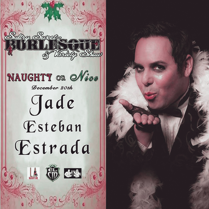 Jade Esteban Estrada @ Historic El Cid in Los Angeles 12/20